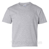 Gray Tall Size 100% cotton t-shirt