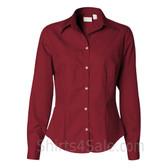 Cardinal Ladies' Silky Poplin collared shirt