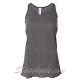 Bella B8800 Ladies Maxine Flowy Tank -(Dark Grey)