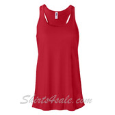 Bella B8800 Ladies Maxine Flowy Tank -(Red)
