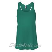 Bella B8800 Ladies Maxine Flowy Tank -(Green)