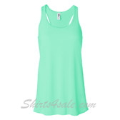 Bella B8800 Ladies Maxine Flowy Tank -(Mint)