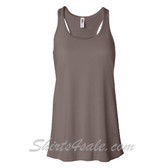 Bella B8800 Ladies Maxine Flowy Tank -(Pebble Brown)