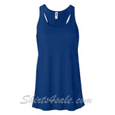 Bella B8800 Ladies Maxine Flowy Tank -(Blue)