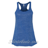 Bella B8800 Ladies Maxine Flowy Tank -(True Blue Marble)