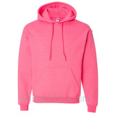 Safety Pink Heavy Blend Hooded Sweatshirt