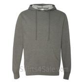 Grey Heather Fleece Heavenly Hooded Pullover