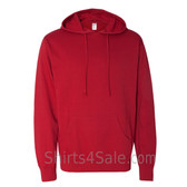 Red Fleece Heavenly Hooded Pullover