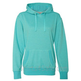 Maui Blue Ladies' Glitter French Terry Hooded Pullover