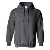 Charcoal Heavy Blend Hooded Sweatshirt