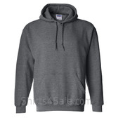 Dark Heather Heavy Blend Hooded Sweatshirt