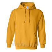 Gold Yellow Heavy Blend Hooded Sweatshirt