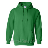 Green Heavy Blend Hooded Sweatshirt