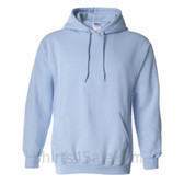 Light Blue Heavy Blend Hooded Sweatshirt