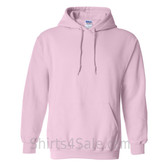 Light Pink Heavy Blend Hooded Sweatshirt