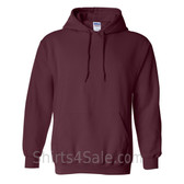 Maroon Heavy Blend Hooded Sweatshirt