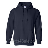 Navy Heavy Blend Hooded Sweatshirt