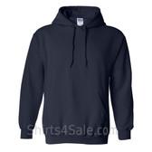 Navy Heavy Blend Hooded Sweatshirt