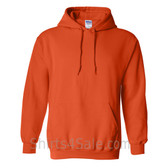 Orange Heavy Blend Hooded Sweatshirt