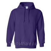 Purple Heavy Blend Hooded Sweatshirt
