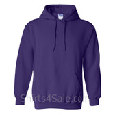 Purple Heavy Blend Hooded Sweatshirt
