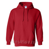 Red Heavy Blend Hooded Sweatshirt