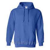 Royal Blue Heavy Blend Hooded Sweatshirt