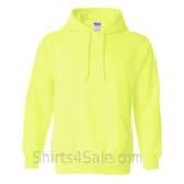 Safety Green Heavy Blend Hooded Sweatshirt