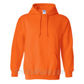 Safety Orange Heavy Blend Hooded Sweatshirt