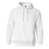 White Heavy Blend Hooded Sweatshirt