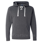 Charcoal Heather Sport Lace Hooded Sweatshirt
