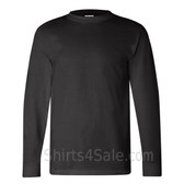 Black USA-Made Long Sleeve T-Shirt