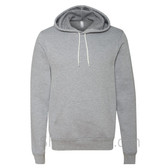 Athletic Heather Unisex Poly/Cotton Hooded Pullover Sweatshirt