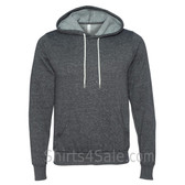 Digital Grey Unisex Poly/Cotton Hooded Pullover Sweatshirt