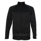 Black Performance Colorblock Full-Zip Jacket