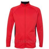 Scarlet Performance Colorblock Full-Zip Jacket