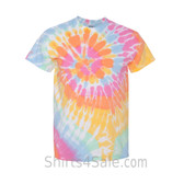 Aerial Spiral Tie-Dyed Short Sleeve T-Shirt