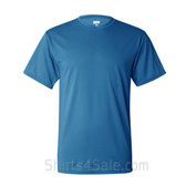 Bright Blue Performance t shirt for men