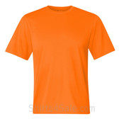 Champion Safety Orange Men's 4 oz. Double Dry Performance T-Shirt