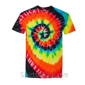 Illusion Tie-Dyed Short Sleeve T-Shirt