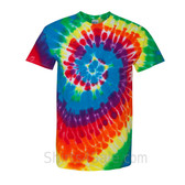 Michelangelo Tie-Dyed Short Sleeve T-Shirt