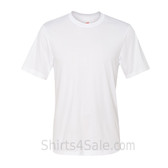 Hanes Men's Short Sleeve Cool Dri UPF 50+ Performance T-Shirt - White