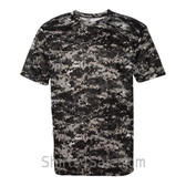 Black Badger Men's Short Sleeve Sublimated Camo Tee
