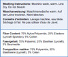 Glamorise Isometric Briefer Shaper Washing Instructions & Fiber Content