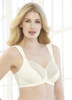 Glamorise Elegance Full-Figure Wide-Strap Support Bra Ivory