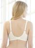 Glamorise Elegance Full-Figure Wide-Strap Support Bra - Back View