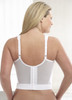 Rigid front panels provide midriff control and create a smooth silhouette that slims and shapes.