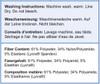 Glamorise Magic-Lift High Impact Zipper Sport Bra Washing Instructions & Fiber Content