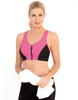 Moisture wicking fabrics keep you cool and dry during active workouts.