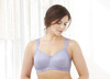 Glamorise Soft Shoulders Everyday Comfort Bra Lavender